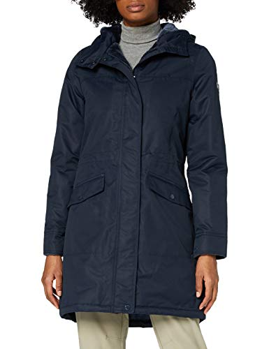 Regatta Women's Rimona Waterproof Breathable Taped Seams Insulated Lined Hooded Jacket, Navy, 16