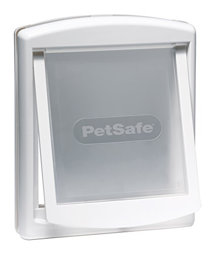 PetSafe Staywell, Convenient, Original 2 Way Pet Door, Fast Installation, Easy fitting, 2 Way Locking, Cat Flap for All Pets – Small - White