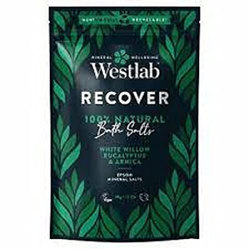 Westlab's Recover Epsom Salts with White Willow & Eucalyptus 1kg