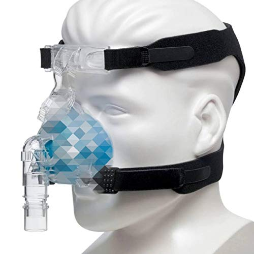Universal CPAP Headgear Strap Intended for ResMed and Respironics Nasal Mask – Compatible with Most CPAP Masks - CPAP Strap Replacement & CPAP Supplies for Sleep Apnea (Mask, Clips NOT Included)
