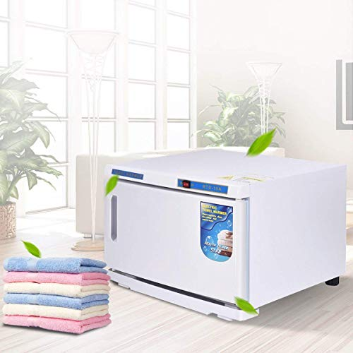 DC HOUSE 16L UV Hot Facial Towel Cabinet Sterilizer Disinfection Warmer Tool for Beauty Salon Spa