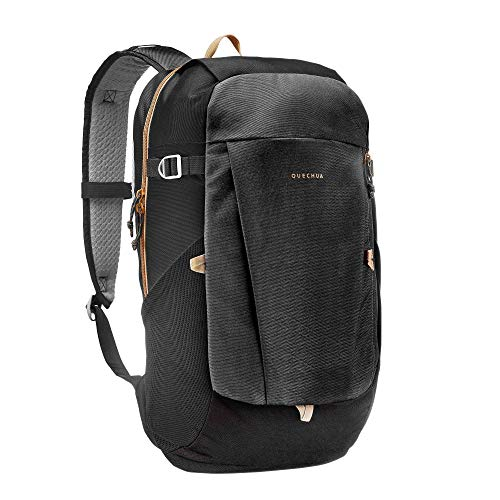 QUECHUA 20L HIKING WALKING EXPEDITION'S SCHOOL BACKPACK BLACK