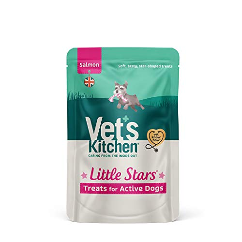 Vet's Kitchen - Active Dog Treats - Little Stars Salmon - For All Breeds and Ages - 80g