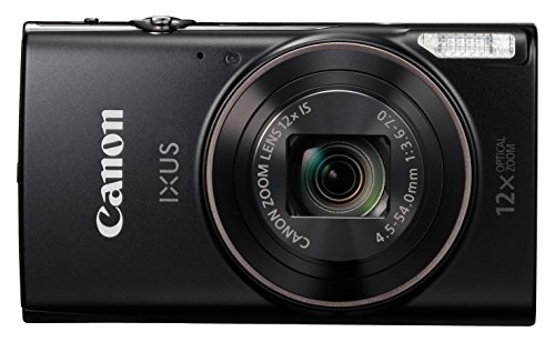 Canon 2421Y85 IXUS 285 Compact Camera with 3 inch LCD Screen - Black