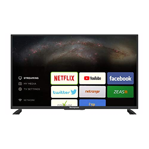 Westinghouse 40 Inch Full HD Smart TV with Freeview T2, USB, HDMI and Built-in Wi-Fi - Black (WD40FP2019 Model)