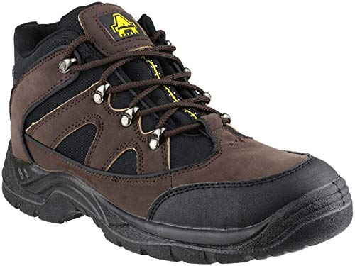 Amblers Steel FS152 SB-P Mid Boot Safety Footwear Synethetic/Textile - Size 10