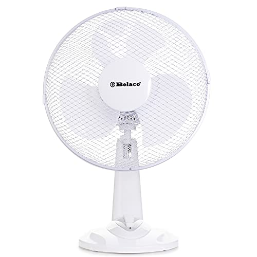 12inch Table Fan Desk Fan with 3 Speed Oscillating Stand Fan Low Noise Strong Resistant Base top Quality