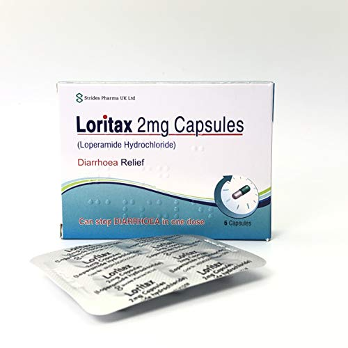 Diarrhoea Relief 2mg Capsules Loperamide Hydrochloride Tablets (36 Tablets - 6 Packs)