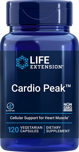 Life Extension Cardio Peak with Standardized Hawthorn and Arjuna, 120 vcaps