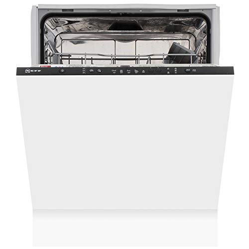 Neff S511A50X1G 12 Place Fully Integrated Dishwasher, White