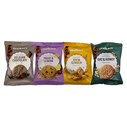 Walkers Mini Biscuits Assorted Packs - Pack Size = 100x2