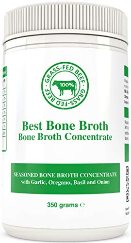 Bone Broth Premium Beef Bone Broth Concentrate Italian Herb Flavour - 100% Sourced from AU Grass-Fed, Pasture-Raised Cattle - Bone Broth Collagen