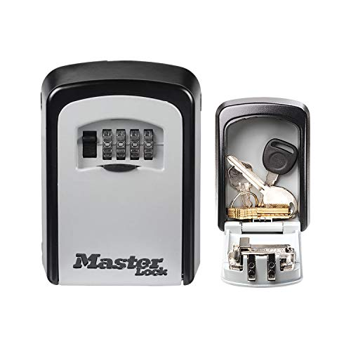 MASTER LOCK Key Safe [Medium size] [Wall mounted] [Outdoor] [Exist in 2 colors] - 5401EURD - Key Lock Box