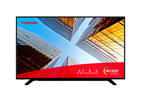 Toshiba 50UL2063DB 50-Inch Smart 4K Ultra-HD LED TV with Freeview Play (2020 Model), Black