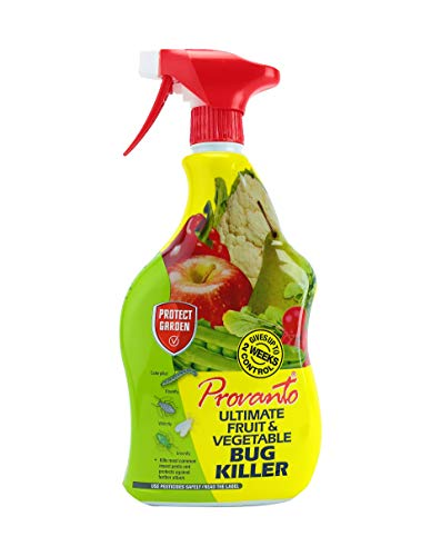 Provanto 86600246 Ultimate Fruit and Vegetable Bug Killer, Insecticide Protects For up to Two Weeks, 1L, Ready-To-Use