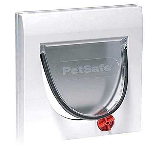 PetSafe Staywell 4 Way Locking Classic Cat Flap, Easy Install, Durable, Pet Door for Cats - (Tunnel Included)
