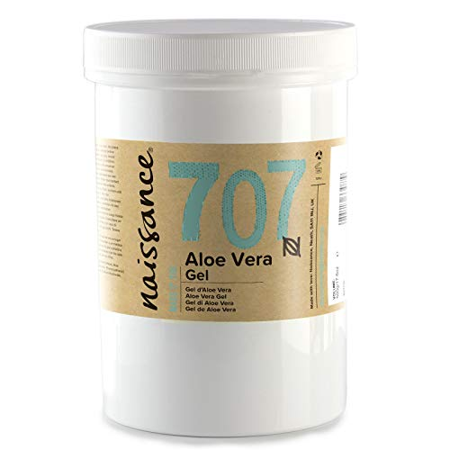Naissance Aloe Vera Gel (no. 707) 500g - Cruelty Free and Vegan - Cooling, Soothing and Moisturising for All Skin Types