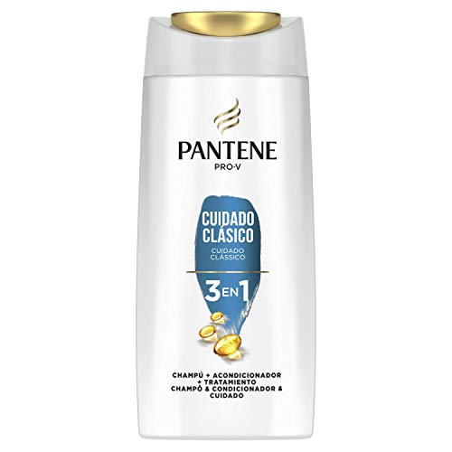 Pantene Pro-V Classic Care Shampoo Conditioner and Treatment 3 in 1 Healthy and Shiny Looking Hair 680 ml