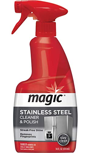 Magic Stainless Steel Cleaner, 14 fl oz