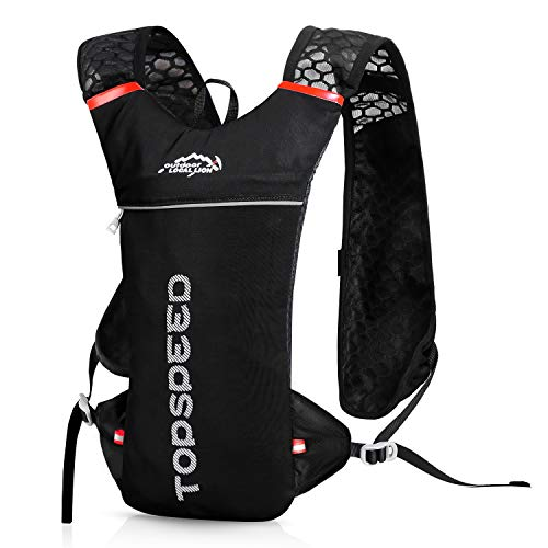 UTOBEST Hydration Pack Backpack Lightweight Rucksack for Cycling Running Small 5 Liter