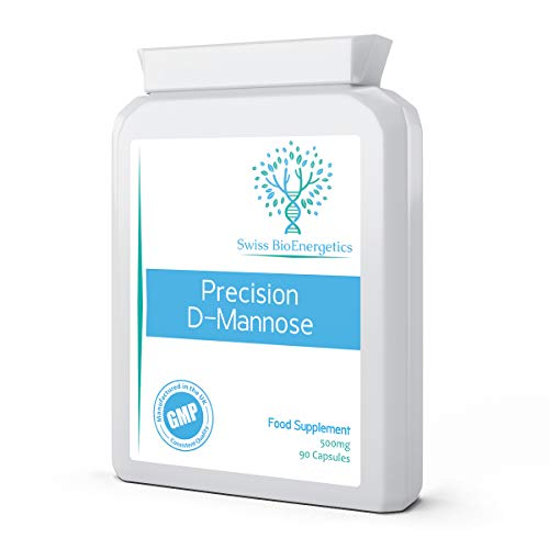 Precision D-Mannose 500mg 90 Capsules - 100% Pure Natural Form