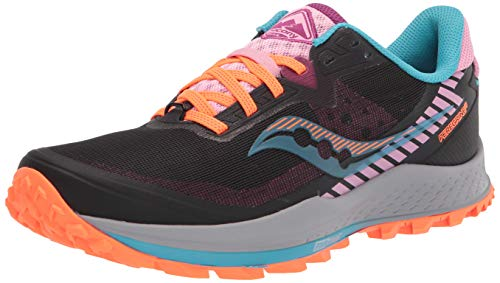 Saucony Peregrine 11 Women's Trail Running Shoes - SS21-5.5 Black