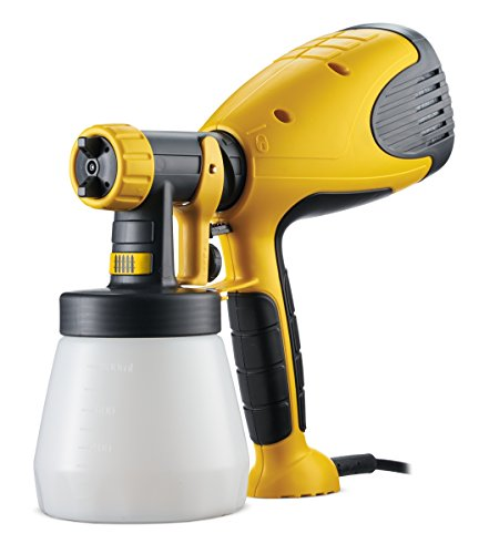 Wagner W 100 Electric Paint Sprayer for Wood & Metal paint - interior and exterior usage, covers 5 m² in 12 min, 800 ml capacity, 280 W