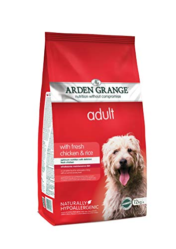 Arden Grange Adult Dry Dog Food Chicken and Rice, 12 kg