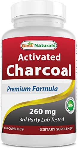 Best Naturals Activated Charcoal 260 mg 120 Capsules