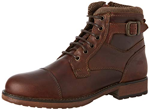 Red Tape Men's Hawthorne Classic Boots, Brown (Wood 000), 9 UK(43 EU)