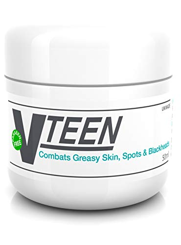 Vteen Salicylic Acid Spot Treatment Cream for Blackheads Milia Blemishes Problem and Greasy Skin Suitable and Safe for those Prone to Acne - Paraben and Cruelty FREE - 50 grams