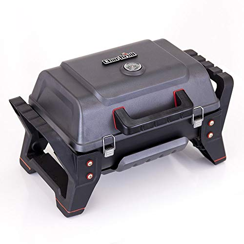 Char-Broil X200 Grill2Go - Portable Barbecue Grill with TRU-Infrared™ technology, Grey  Cast aluminium.