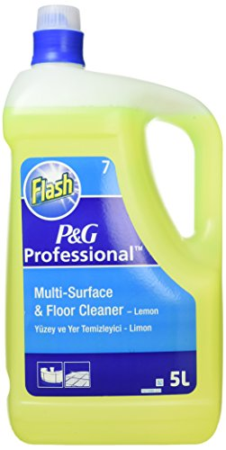 Flash 845234 All Purpose Cleaner for Washable Surfaces 5 Litres Lemon Fragrance Ref VPGFLL5