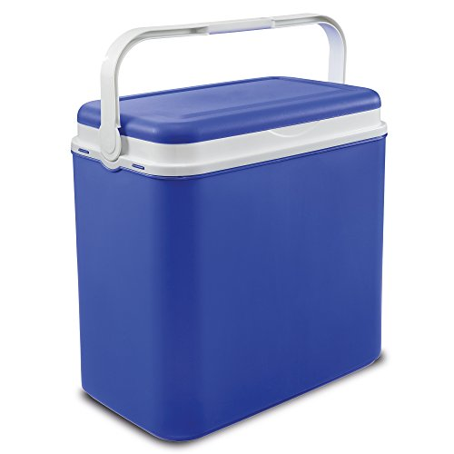 Easygift Products Extra Large Blue 32 Litre Cooler Box Picnic Lunch Beach Camping