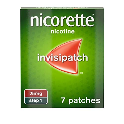 Nicorette InvisiPatch Nicotine Patches, 25mg, 7 Patches