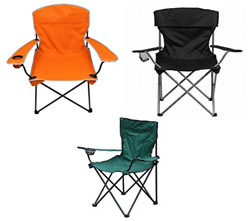 Raxter Folding Camping Chair Lightweight Portable Festival Fishing Outdoor Travel Seat (Green)