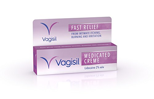VAGISIL Medicated Crème, Fast Relief from Intimate Itch, Burning & Irritation, 30 g