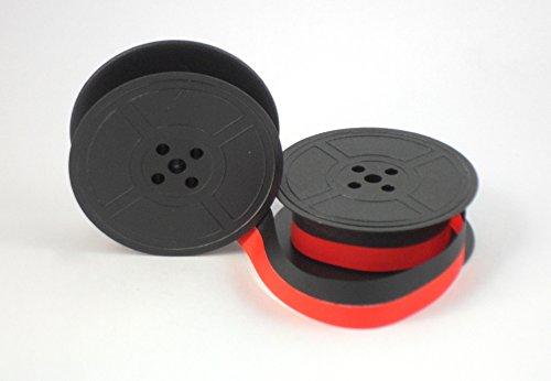 Smith Corona Typewriter Ink Spool Ribbon GR9 - Red and Black