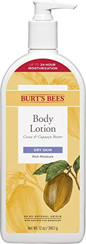 Burts Bees Cocoa and Cupuacu Butters Body Lotion, 12 oz