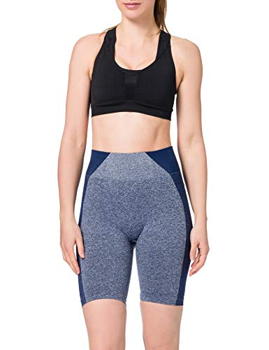 AURIQUE ST0163 Cycling Shorts, Dark Turquoise, 14