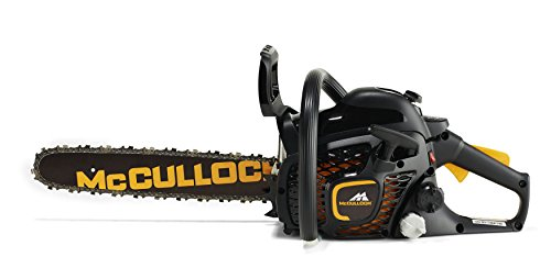 McCulloch CS 35S Petrol Chainsaw: 35cc, 14 Inch Bar Length, 52 Drive Links, Anti-Vibration System, Low Weight, Fully Assembled