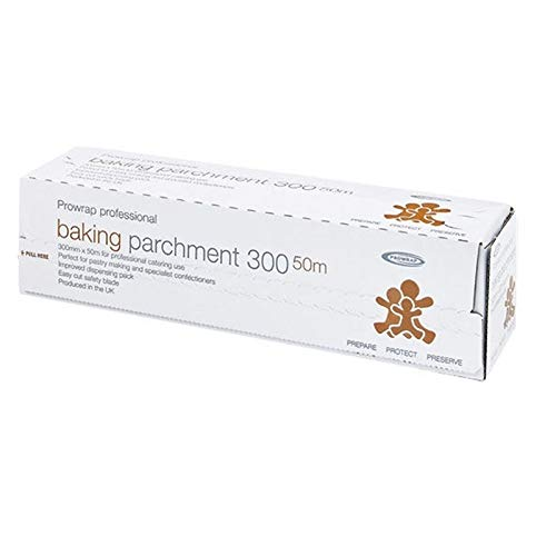 Prowrap Professional Baking Parchment Roll 300mm x 50m - Dispensing Pack