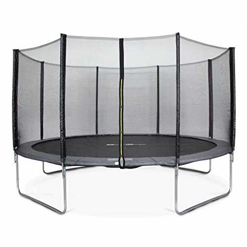 Alice's Garden 14ft Trampoline with Safety Net - 3 Colours - PRO Quality EU Standards