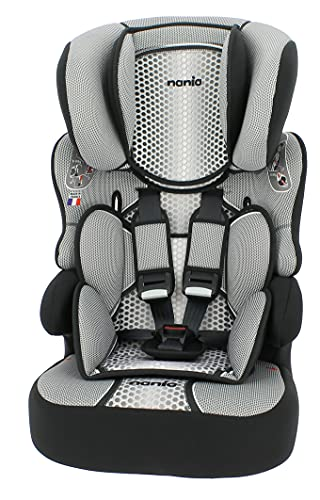 Nania Beline Car seat Group 1/2/3 (9-36kg) - Made in France - Side Impact Protection -Approved ECE R44/04.