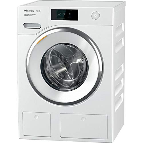 Miele W1 TwinDos WWR860WPS Wifi Connected 9Kg Washing Machine with 1600 rpm - White - A+++ Rated