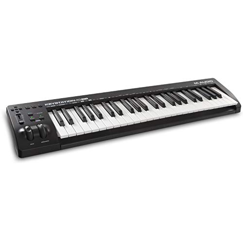 M-Audio Keystation 49 MK3 - 49 Key USB MIDI Keyboard Controller for Mac and PC with Assignable Controls and Software Production Suite Included