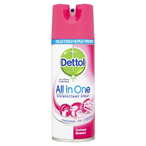 Dettol All-in-One Disinfectant Spray Orchard Blossom, 400 ml