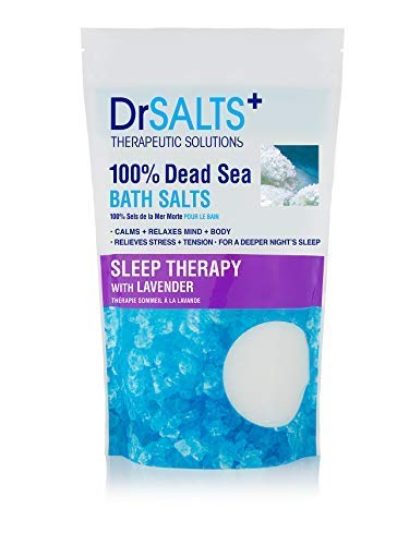 Dr SALTS Dead Sea Bath Salts Sleep Therapy with Lavender, 1 kg
