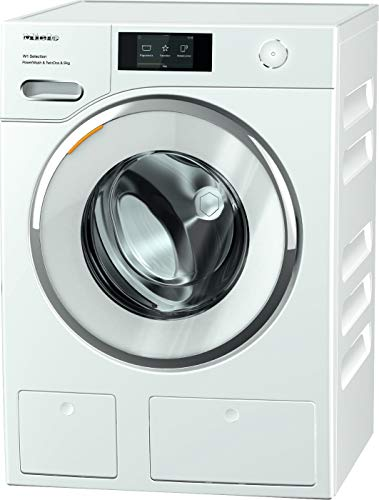 Miele WSR863 Freestanding Washing Machine with TwinDos, Quick PowerWash And M Touch Interface, 9 kg Load, 1600 rpm spin, White [Energy Class A]