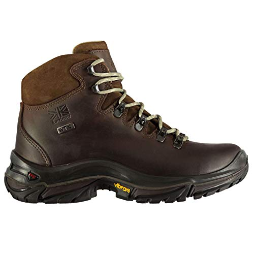 Karrimor Womens Cheviot Waterproof Walking Boots Shoes Lace Up Padded Ankle Brown UK 4 (37)